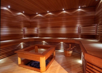 HOW TO MAKE LIGHTING IN A SAUNA